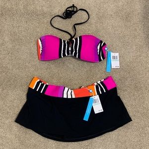Blue Rod Beattie 2 piece swimsuit NWT